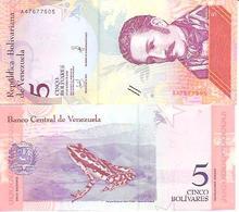 Venezuela  New   5 Bolivares  2018  UNC - Venezuela