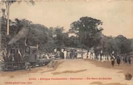 Dahomey - Topo / 107 - En Gare De Sakété - Dahomey