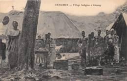 Dahomey - Topo / 108 - Village Indigène à Abomey - Dahomey
