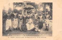 Dahomey - Topo / 110 - Adjara - Le Roi Et Sa Suite - Dahomey