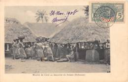 Dahomey - Topo / 113 - Marché De Cové - Amandes De Palmes - Belle Oblitération - Dahomey