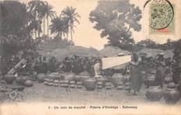 Dahomey - Topo / 114 - Poterie D' Ombéga - Un Coin Du Marché - Belle Oblitération - Dahomey