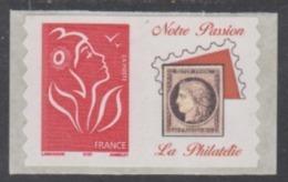 Année 2005 - N° 3802Ad - 3802Ae - Marianne De Lamouche - Roulettes Adhésives - Petite Et Grande Vignette - Logos Privés - Personalized Stamps