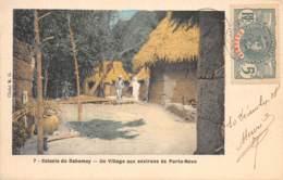 Dahomey - Topo / 120 - Un Village - Belle Oblitération - Dahomey