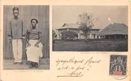 Dahomey - Topo / 122 - Un Garde Civil Et Sa Femme - Belle Oblitération - - Dahomey