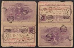 AKAROA - NEW ZEALAND - NOUVELLE ZELANDE / 1902 ENTIER POSTAL ILLUSTRE POUR L INDE (ref LE2757) - 1855-1907 Colonie Britannique