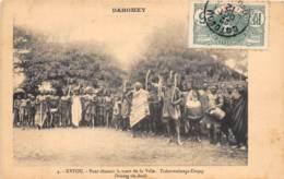 Dahomey - Topo / 124 - Ketou - Pour Chasser La Mort De La Ville - Belle Oblitération - Dahomey
