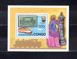 República Del Congo  1979 .  Y&T  Nº   19   Block     *   ( C/ Charniere ) - Congo - Brazzaville