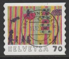 Switzerland 2000 International Children`s Paintings Competition 70 C Multicoloured SW 1727 O Used - Switzerland
