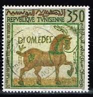 "Tunesien 1992, Michel# 1260 O ""Racehorse"", 4th Century - Tunisia"