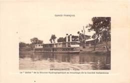 Congo - Brazzaville / 10 - Le Dolisi De La Mission Hydrographique - Brazzaville