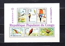República Del Congo  1980 .  Y&T  Nº   25   Block     *   ( C/ Charniere ) - Congo - Brazzaville