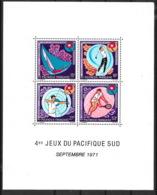 Polynésie Française 1971 - Bloc Feuillet N° 2 - Neuf * - Cote 245 € - Blocs-feuillets