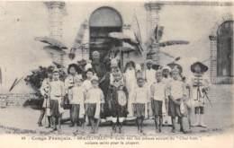Congo - Brazzaville / 18 - Patronage - Acteurs Du Chat Botté - Brazzaville