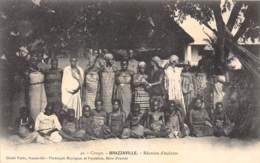 Congo - Brazzaville / 20 - Réunion D'esclaves - Brazzaville