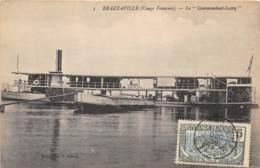 Congo - Brazzaville / 24 - Le Commandant Lamy - Bateau - Belle Oblitération - Brazzaville