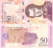 Venezuela  New   50 Bolivares  2018  UNC - Venezuela