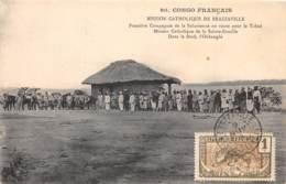 Congo - Brazzaville / 32 - Première Compagnie De La Saharienne - Belle Oblitération - Brazzaville