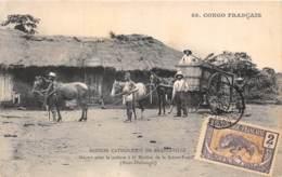 Congo - Brazzaville / 33 - Départ Pour La Culture - Belle Oblitération - Brazzaville