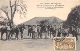Congo - Brazzaville / 34 - Cavalerie De La Mission De La Sainte Famille - Belle Oblitération - Brazzaville