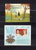 República Del Congo  1981-82 .  Y&T  Nº   28-29   Blocks     *   ( C/ Charniere ) - Congo - Brazzaville
