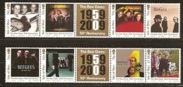 Île De Man 2009 Yvertn° 1572-1579 *** MNH  Cote 20,00 Euro The Bee Gees - Man (Ile De)
