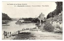 CHARLEVILLE (08) - Vue Sur La Meuse - Vieux Moulin - Ed. Artistique E. R. T. - Charleville