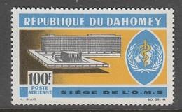 TIMBRE NEUF DU DAHOMEY - INAUGURATION DU SIEGE DE L'ORGANISATION MONDIALE DE LA SANTE, A GENEVE N° Y&T PA 36 - WHO