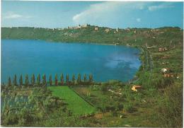 V3124 Castelgandolfo Castel Gandolfo (Roma) - Il Lago Albano E Panorama / Non Viaggiata - Italie