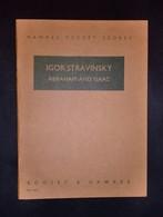 Musica Spartiti - Hawkes Pocket Scores No.762 - I. Stravinsky- Abraham And Isaac - Vecchi Documenti