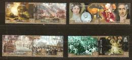 Île De Man 2005 Yvertn° 1212-1219 *** MNH  Cote 17,50 Euro La Bataille De Trafalgar - Isle Of Man