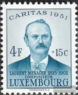 Luxemburg 486 MNH 1951 Caritas - Ongebruikt