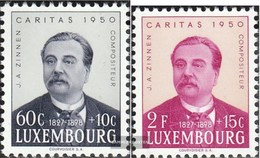 Luxemburg 474-475 MNH 1950 Caritas - Nuevos