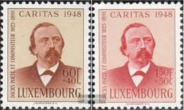 Luxemburg 435-436 MNH 1948 Caritas - Nuevos