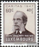 Luxemburg 427 MNH 1947 Caritas - Nuevos