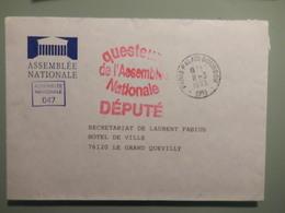 Enveloppe De L'assemblée Nationale - Marcophilie (Lettres)
