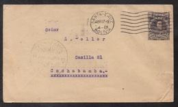 SANTA CRUZ - BOLIVIE - BOLIVIA / 1918 ENTIER POSTAL POUR COCHABAMBA (ref LE2759) - Bolivie