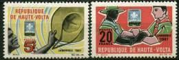 """Hte-Volta YT 179 & 180 """" Jamborée """" 1967 Neuf** - Haute-Volta (1958-1984)"""