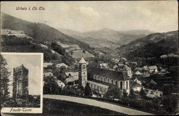 Cp Orbey Urbeis Elsass Haut Rhin, Panorama Vom Ort, Faudéturm - Altri Comuni