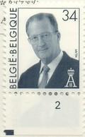 PIA  -  BELGIO  -  1997  : Uso Corrente - Re Alberto II°  - (Yv  2685-86) - Belgio