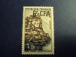"1954-CFA- Timbre N°334     "" Beynac       ""   Neuf,  Charniere-  Cote  0.50        Net     0.15 - Réunion (1852-1975)"