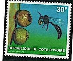 COTE D'IVOIRE Insectes, Insecte Yvert 508C  Neuf Sans Charniere. MNH - Altri