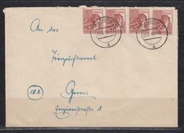 SBZ 10-Fachfrankatur An Das Finanzamt Gera 29.6.48 Mit 4x A 956 - Soviet Zone