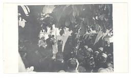 Photo Amateur Guerre 1915, Prêche De L'Aumonier Arvant, à Localiser - Guerre, Militaire