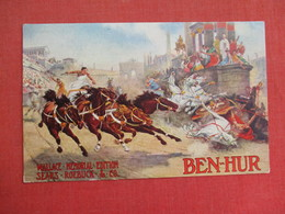 Ben Hur   Wallace Edition   Sears & Roebuck & Co   Ref 3088 - Publicité