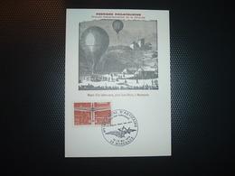 CP TP VOL A VOILE 0,15 OBL.12-13 Mai 1978 33 BORDEAUX EXPOSITION TEMPORAIRE La Poste Dans Les Airs - Poste