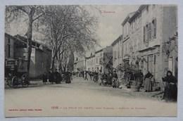 CPA La Tour-du-Crieu, Ariège, Avenue De Pamiers, Labouche 1218 - France