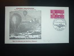 LETTRE TP AVIATION DE TOURISME 0,20 OBL.12-13 Mai 1978 33 BORDEAUX EXPOSITION TEMPORAIRE La Poste Dans Les Airs - Poste