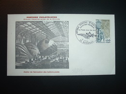 LETTRE TP JOURNEE DU TIMBRE 1,00+0,20 OBL.12-13 Mai 1978 33 BORDEAUX EXPOSITION TEMPORAIRE La Poste Dans Les Airs - Poste