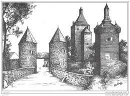 SOMBREFFE ..-- Le Château . - Sombreffe
